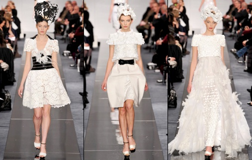 Defile Chanel Haute Couture Printemps Ete 2009 Tendances